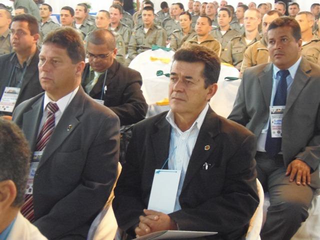 Aparício Santellano presente no VI Fórum das Entidades Representativas dos Policiais e Bombeiros Militares do Brasil.