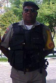 Sargento e filho de 17 anos foram executados na frente de casa, em Alvorada Foto: Divulgação  / BM