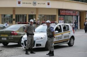 Policiamento terá menos servidores nas ruas por mais uma semana Foto: Fernando Gomes  / Agencia RBS