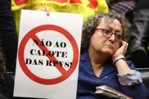 Professores ligados ao Cpers são presença constante nas sessões da Assembleia. Junto com a OAB, pressionam pela derrubada do projeto Foto: Félix Zucco / Agencia RBS