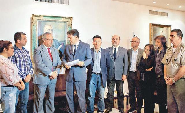 Projeto salarial foi recebido pelo presidente da AL, Pedro Westphalen